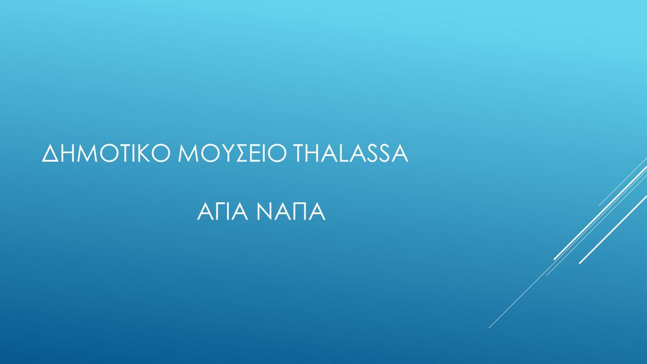 Δημοτικο μουσειο Thalassa Αγια Ναπα