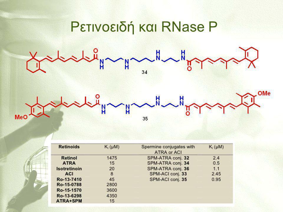 Ρετινοειδή και RNase P