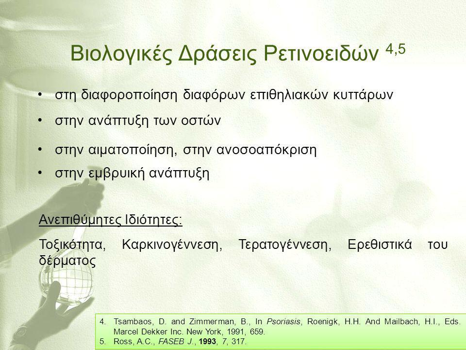 Βιολογικές Δράσεις Ρετινοειδών 4,5