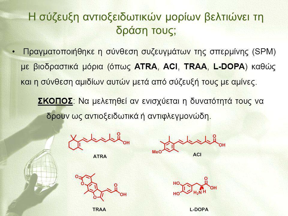 Η σύζευξη αντιοξειδωτικών μορίων βελτιώνει τη δράση τους;