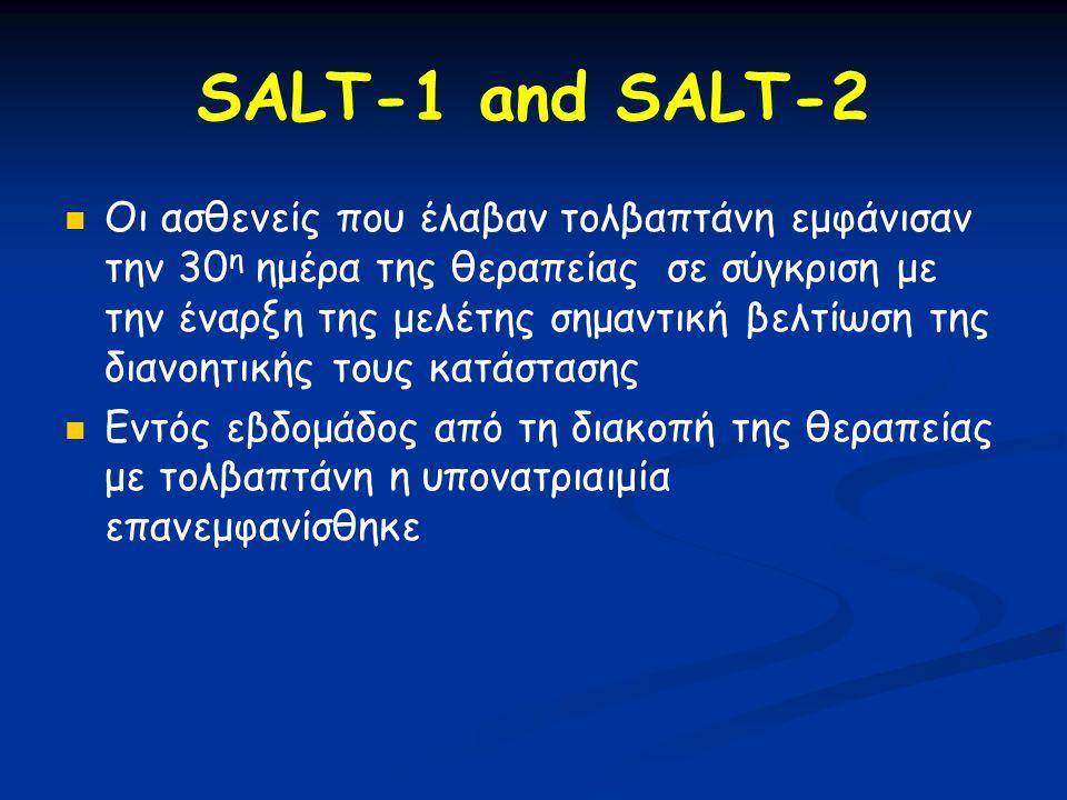 SALT-1 and SALT-2
