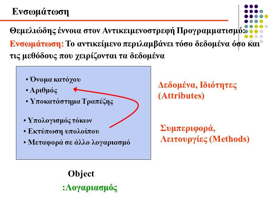 Ενσωμάτωση Δεδομένα, Ιδιότητες (Attributes)
