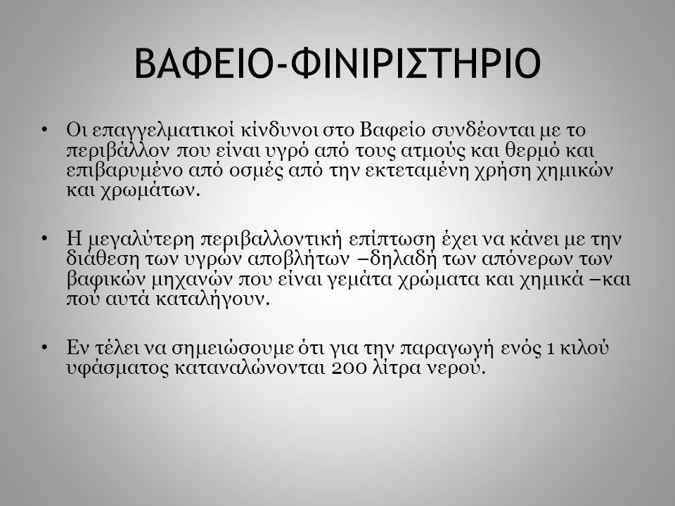 ΒΑΦΕΙΟ-ΦΙΝΙΡΙΣΤΗΡΙΟ
