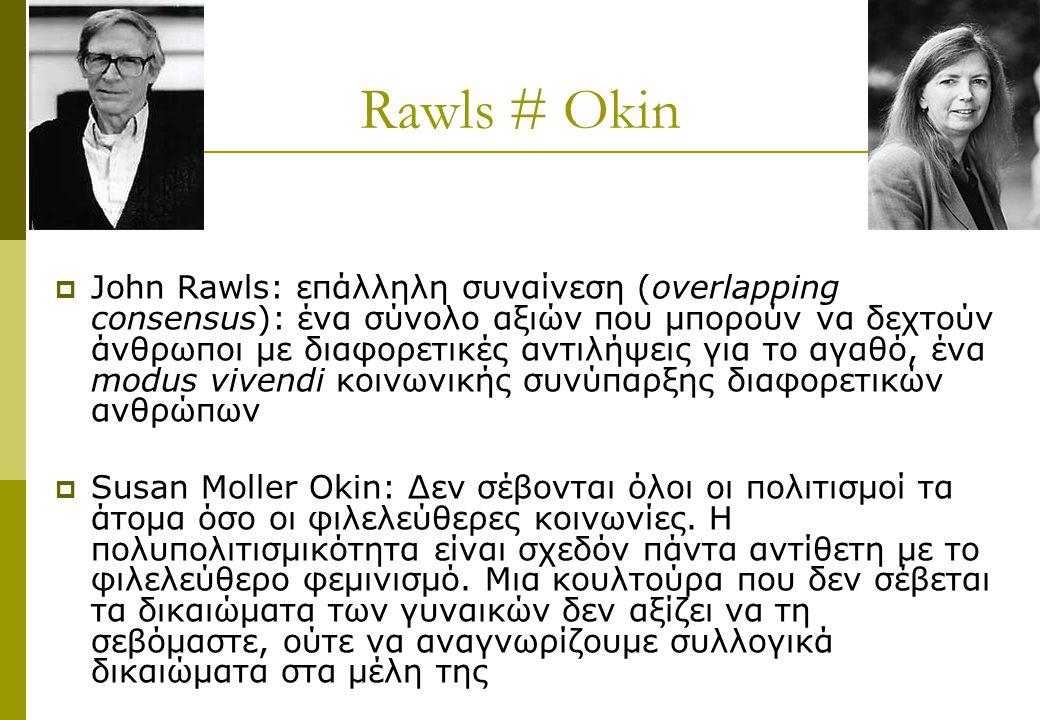 Rawls # Okin