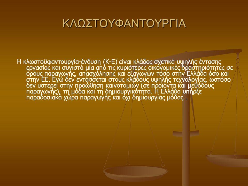 ΚΛΩΣΤΟΥΦΑΝΤΟΥΡΓΙΑ