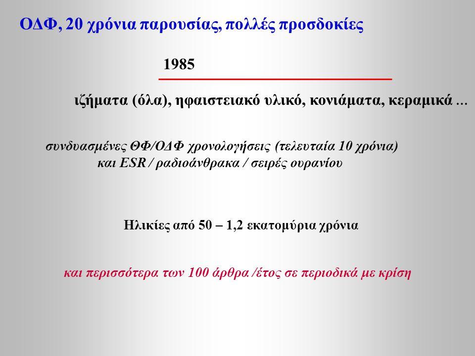 ΟΔΦ, 20 χρόνια παρουσίας, πολλές προσδοκίες