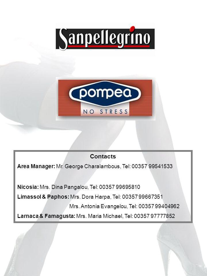 Contacts Area Manager: Mr. George Charalambous, Tel: