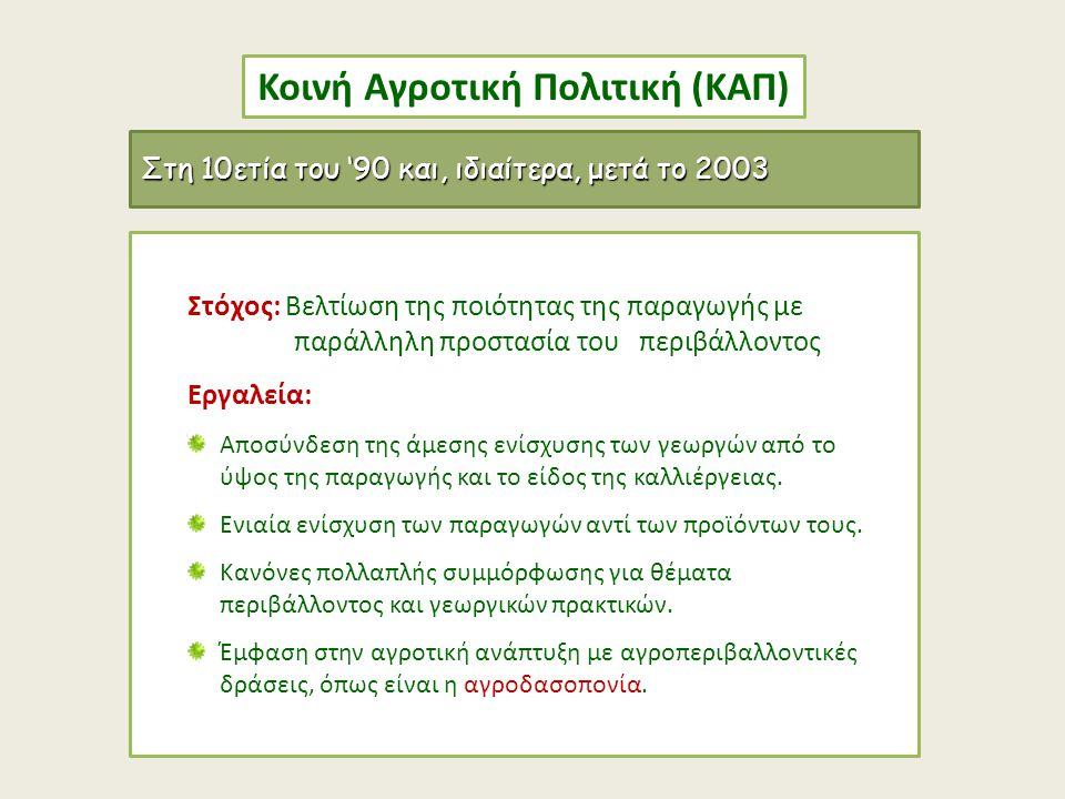 Κοινή Αγροτική Πολιτική (ΚΑΠ)