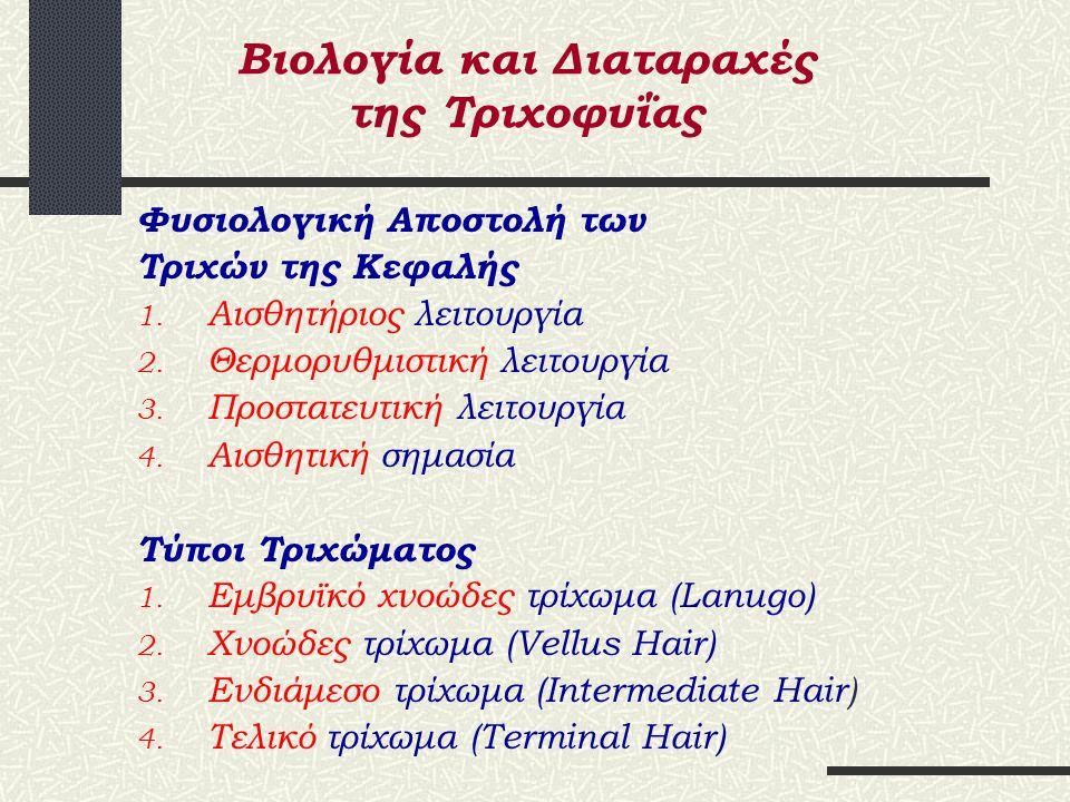 Βιολογία και Διαταραχές της Τριχοφυΐας