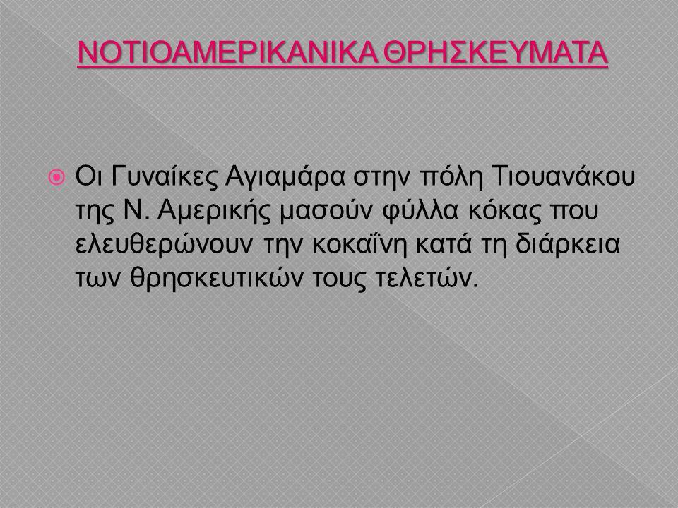 ΝΟΤΙΟΑΜΕΡΙΚΑΝΙΚΑ ΘΡΗΣΚΕΥΜΑΤΑ