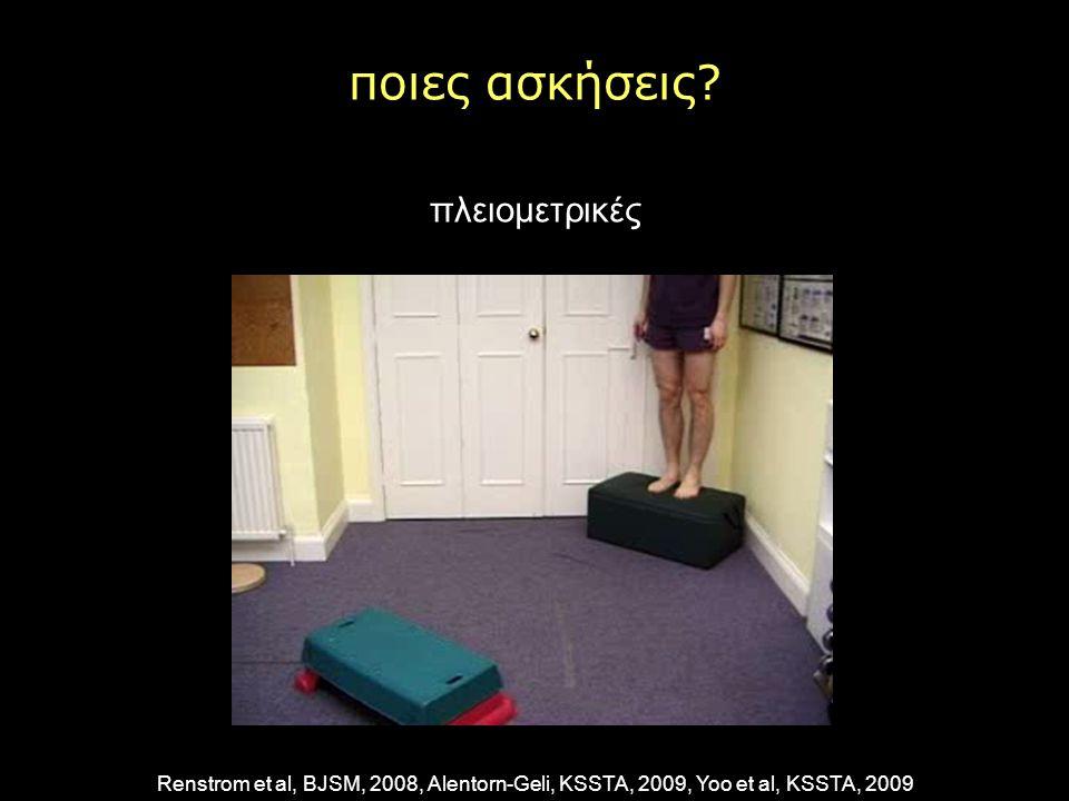 ποιες ασκήσεις πλειομετρικές