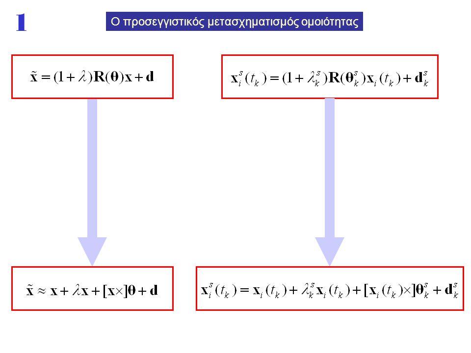 1 Ο προσεγγιστικός μετασχηματισμός ομοιότητας