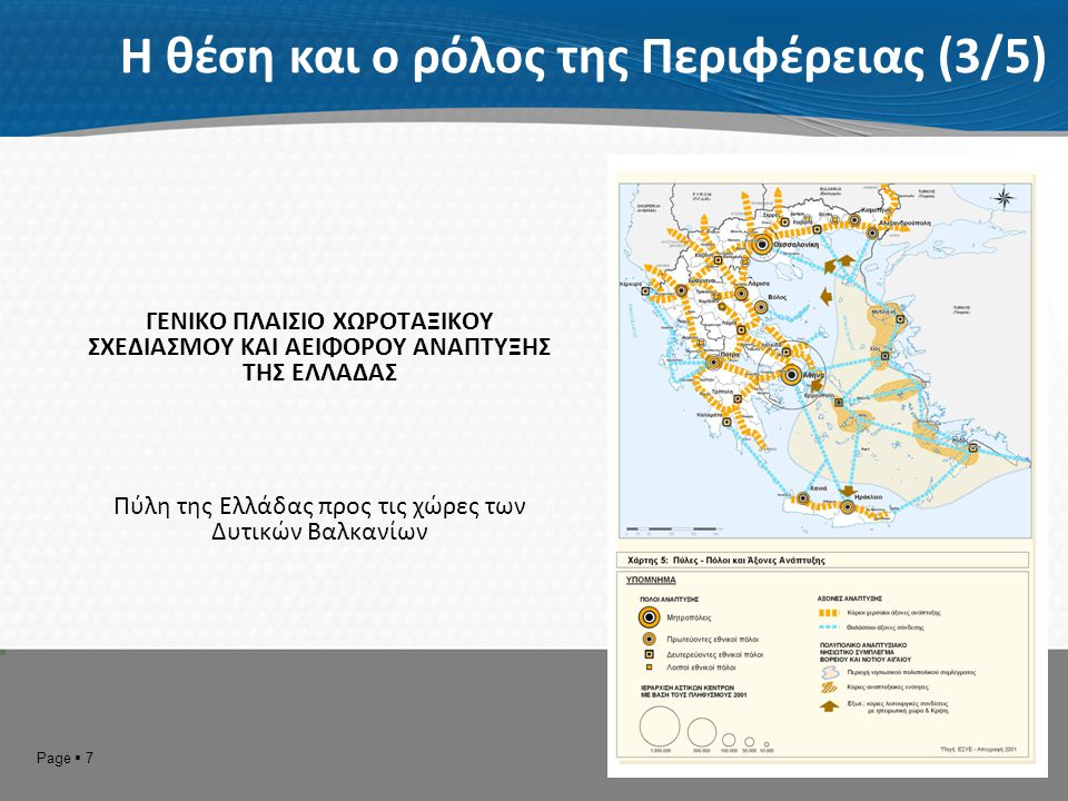 Πύλη της Ελλάδας προς τις χώρες των Δυτικών Βαλκανίων