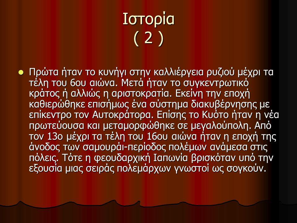 Ιστορία ( 2 )