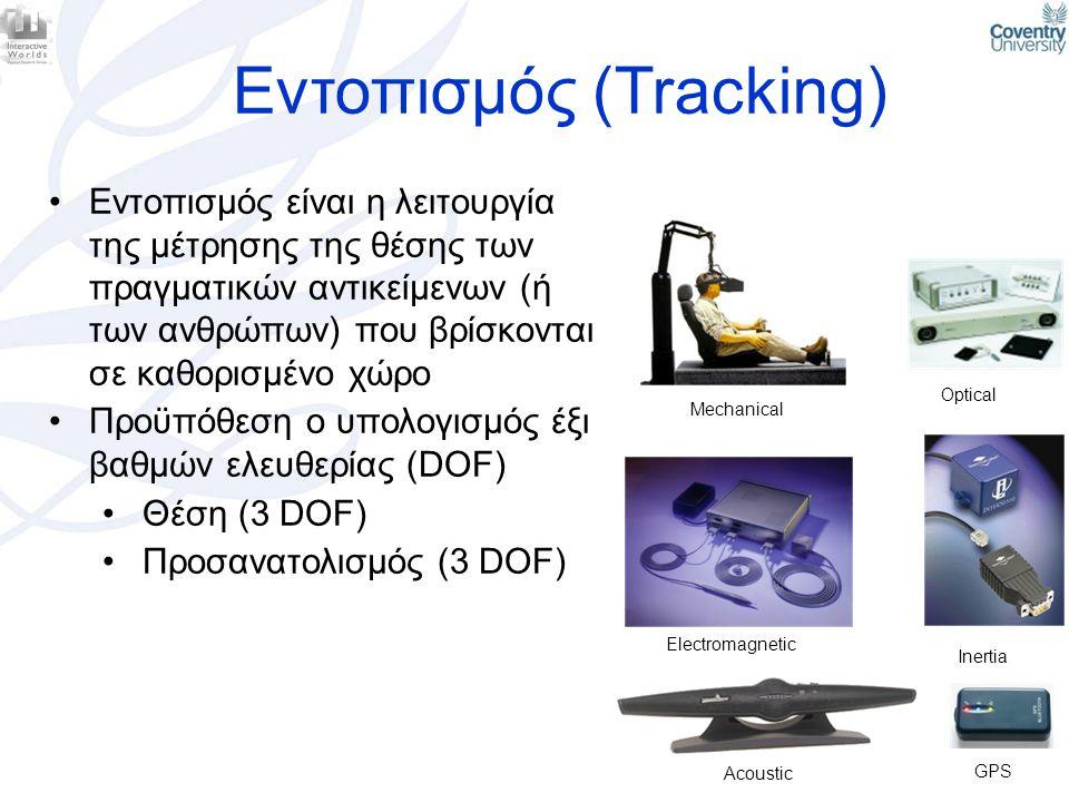 Εντοπισμός (Tracking)