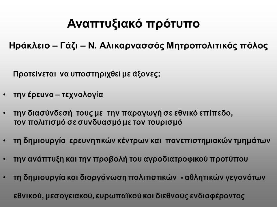 Ηράκλειο – Γάζι – Ν. Αλικαρνασσός Μητροπολιτικός πόλος