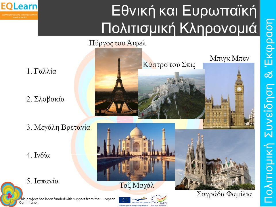 Εθνική και Ευρωπαϊκή Πολιτισμική Κληρονομιά