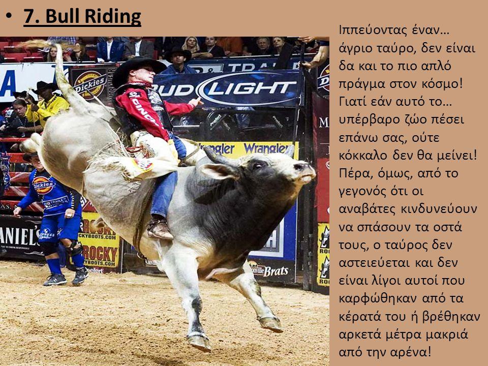 7. Bull Riding