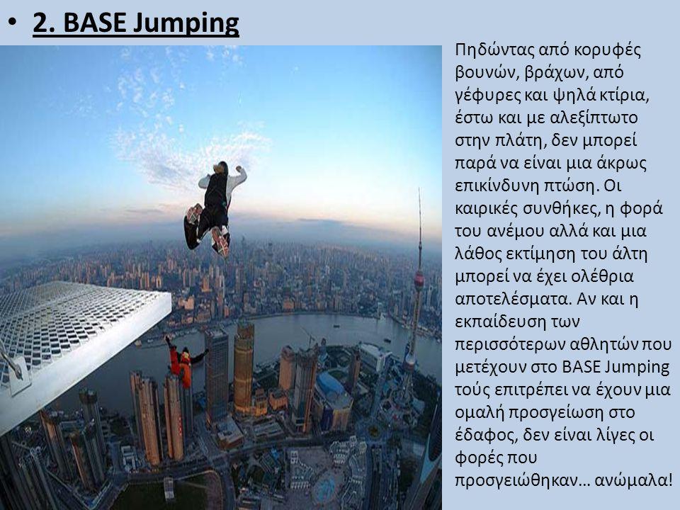 2. BASE Jumping