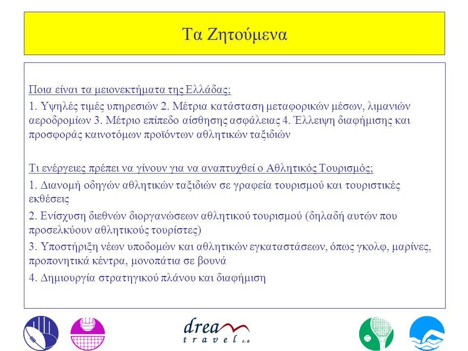 Τα Ζητούμενα Ποια είναι τα μειονεκτήματα της Ελλάδας;