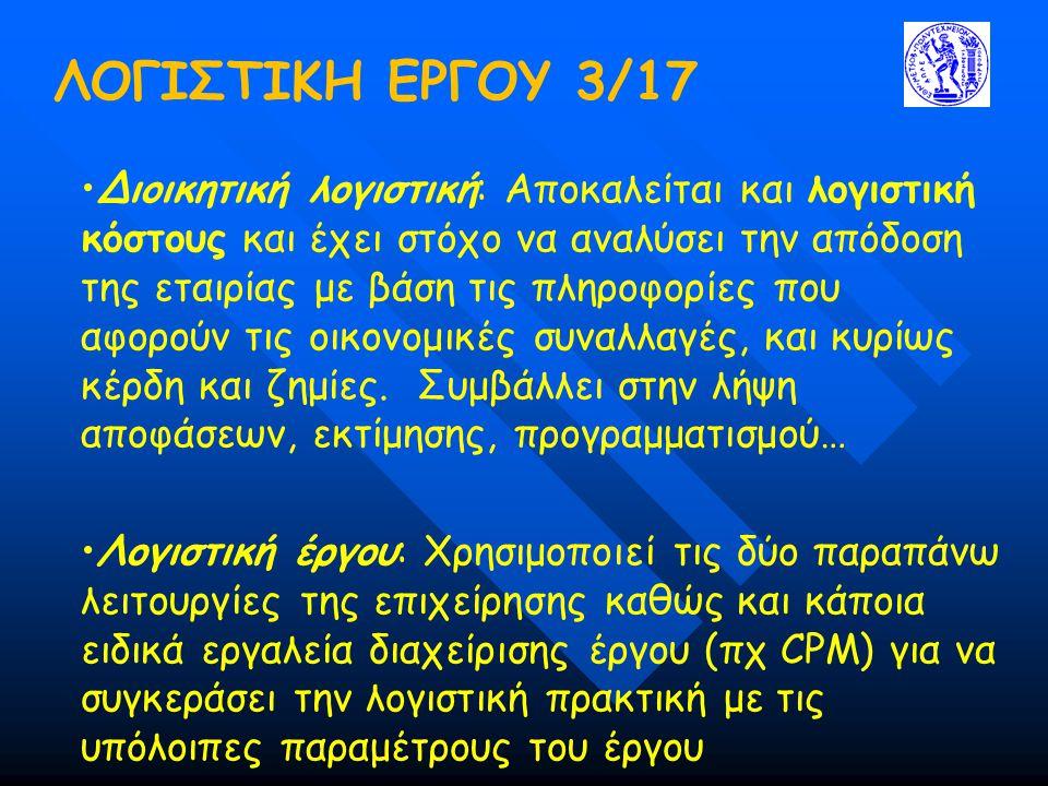 ΛΟΓΙΣΤΙΚΗ ΕΡΓΟΥ 3/17