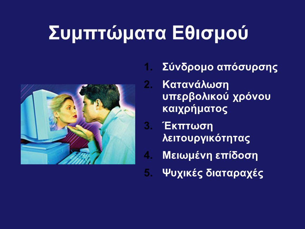 Συμπτώματα Εθισμού Σύνδρομο απόσυρσης