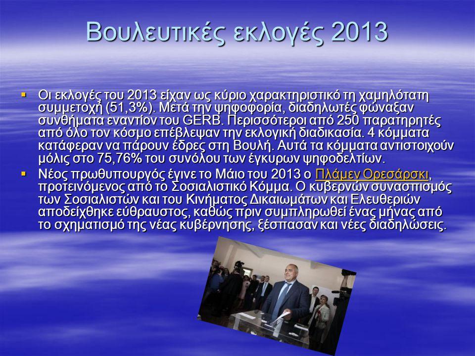Βουλευτικές εκλογές 2013