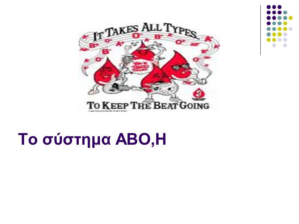 Το σύστημα ΑΒΟ,Η