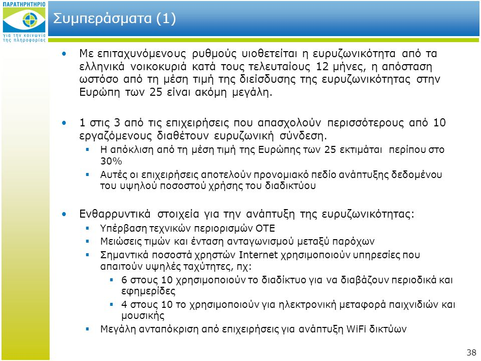Συμπεράσματα (1)
