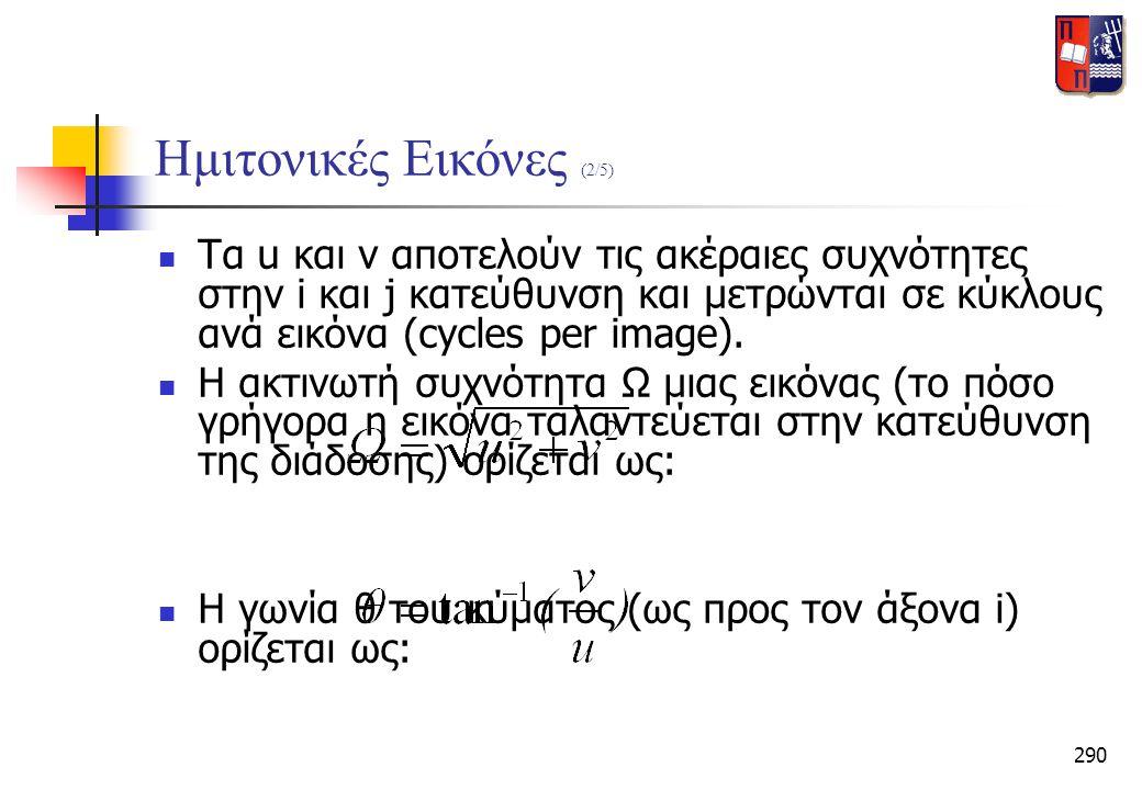 Ημιτονικές Εικόνες (2/5)