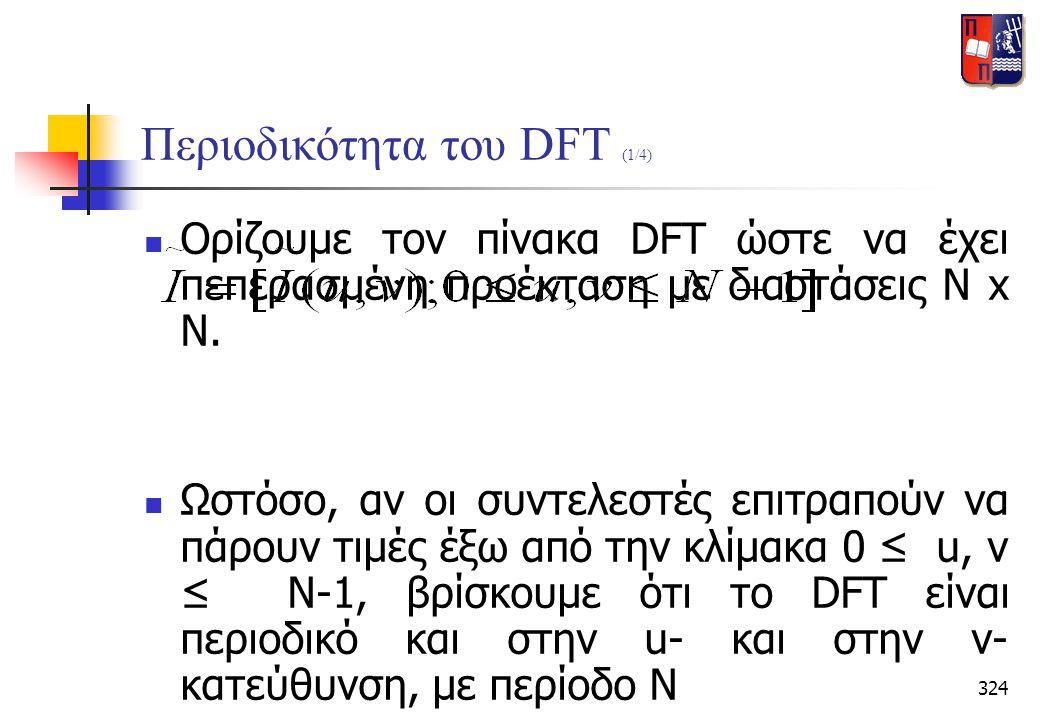 Περιοδικότητα του DFT (1/4)