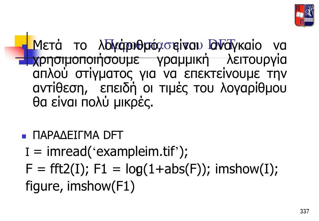 Παρουσίαση του DFT (6/6)