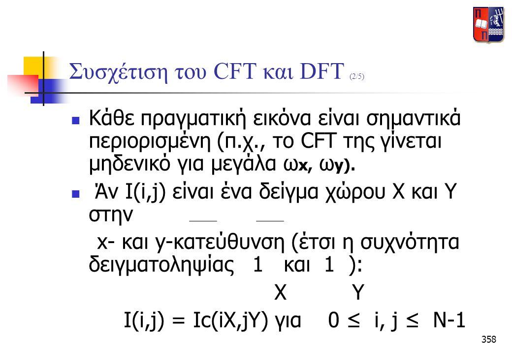 Συσχέτιση του CFT και DFT (2/5)