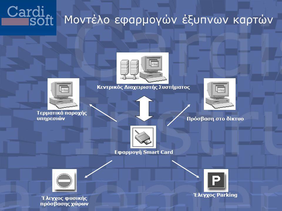 Μοντέλο εφαρμογών έξυπνων καρτών