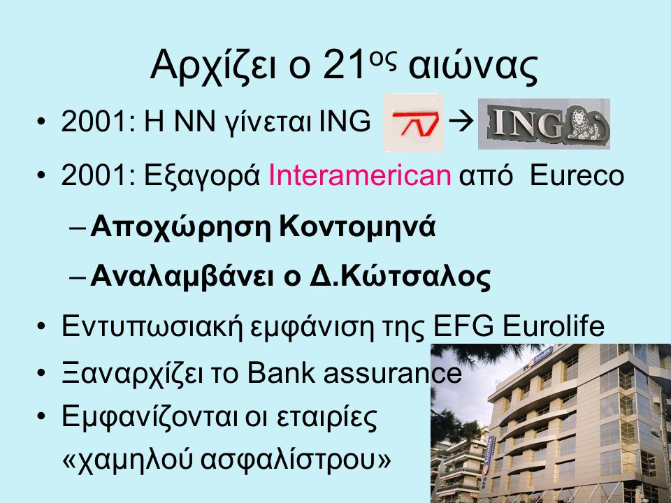 Αρχίζει ο 21ος αιώνας 2001: Η ΝΝ γίνεται ING 