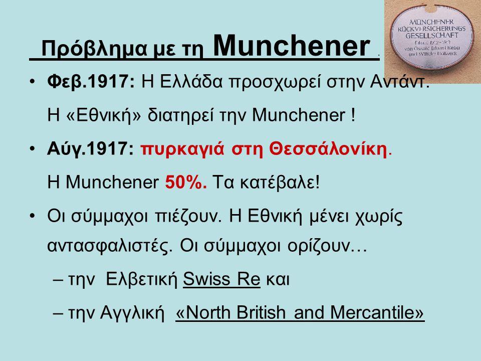 Πρόβλημα με τη Munchener .