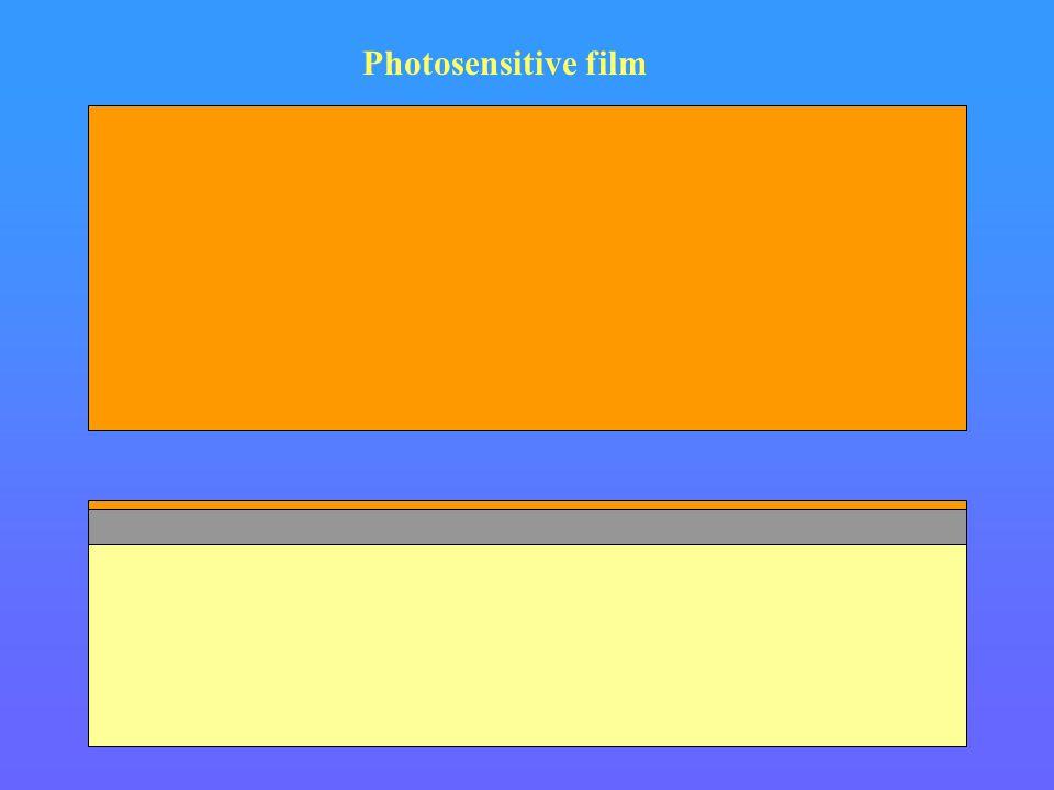 Photosensitive film Si