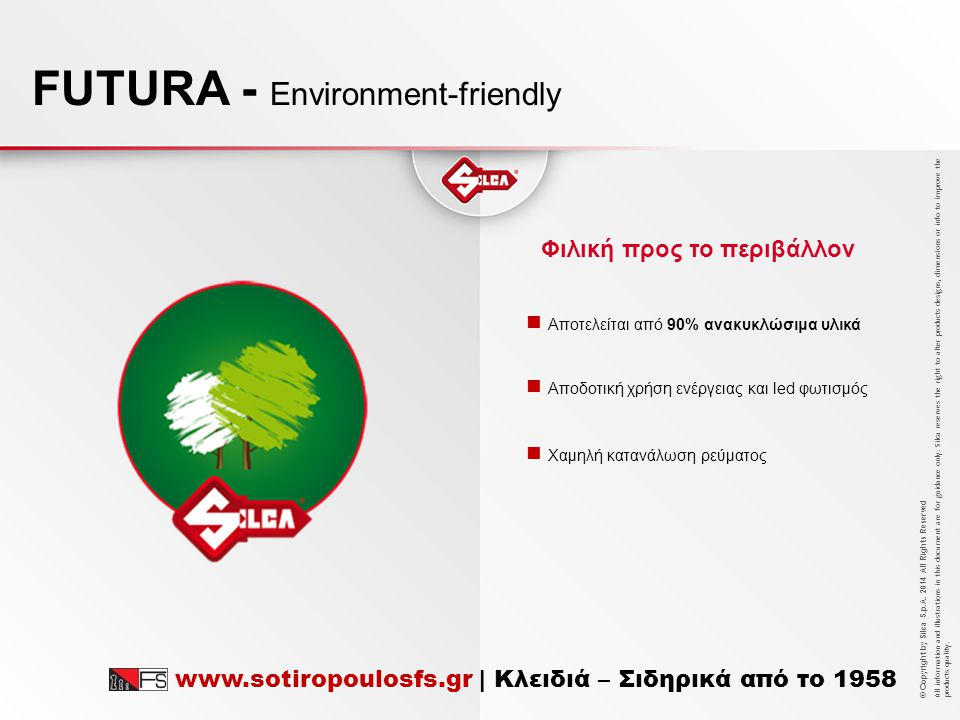 FUTURA - Environment-friendly