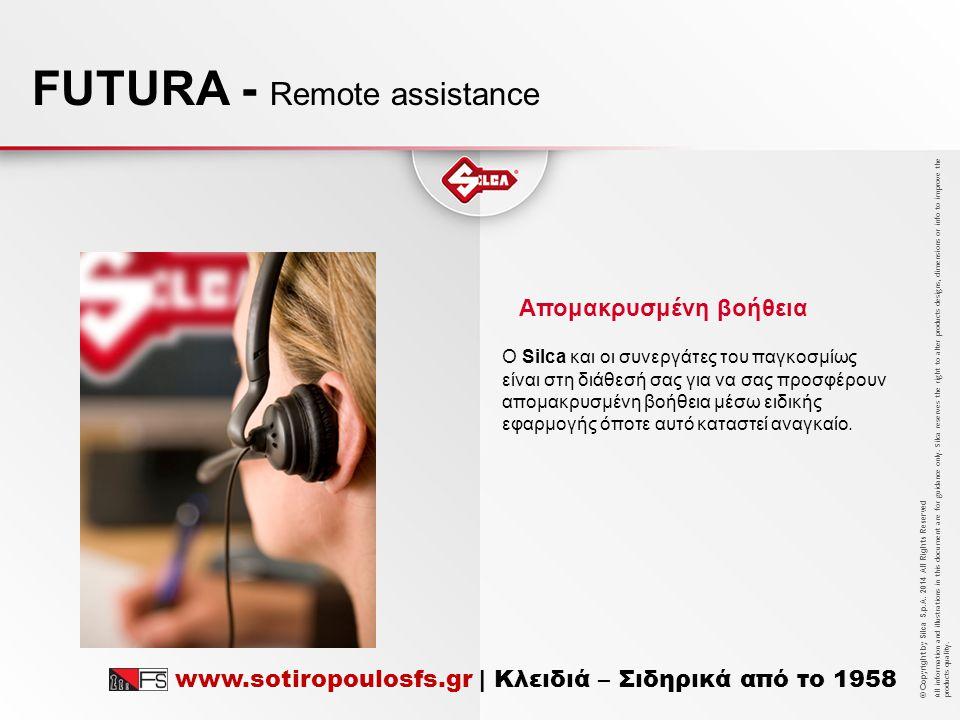FUTURA - Remote assistance