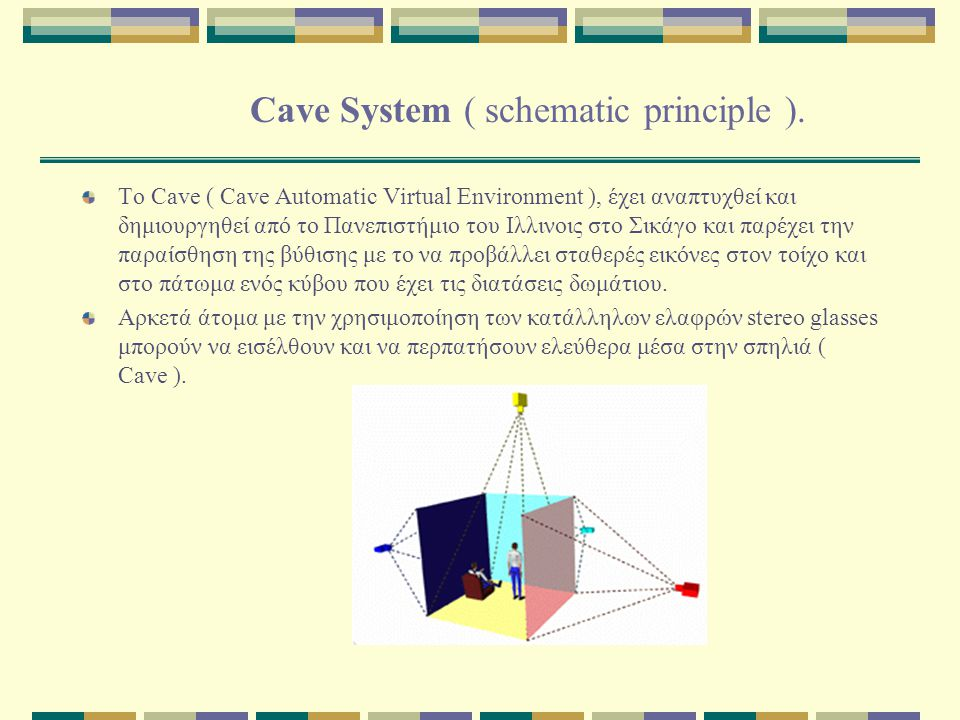 Cave System ( schematic principle ).