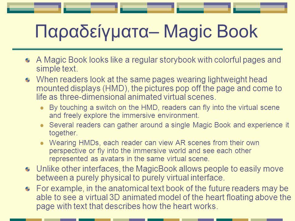 Παραδείγματα– Magic Book