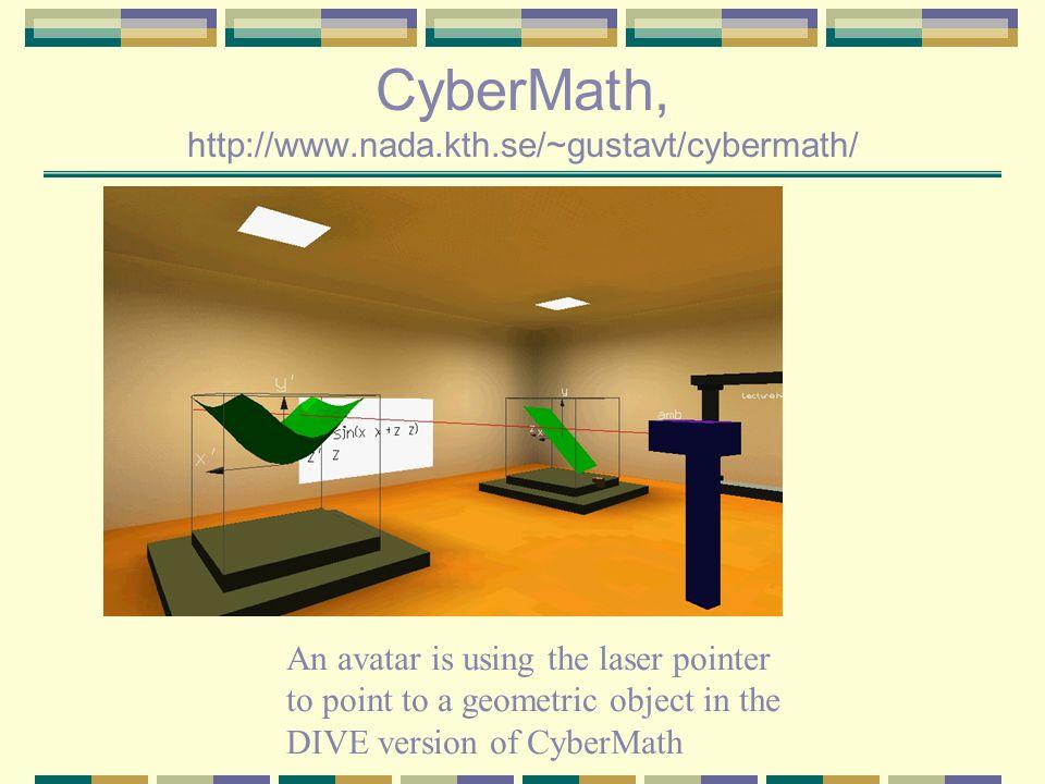 CyberMath, http://www.nada.kth.se/~gustavt/cybermath/