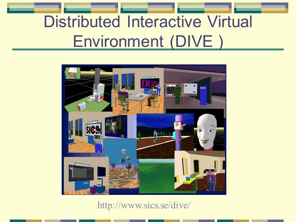 Distributed Interactive Virtual Environment (DIVE )