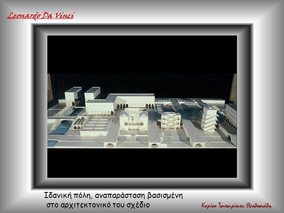 Ιδανική πόλη, αναπαράσταση βασισμένη