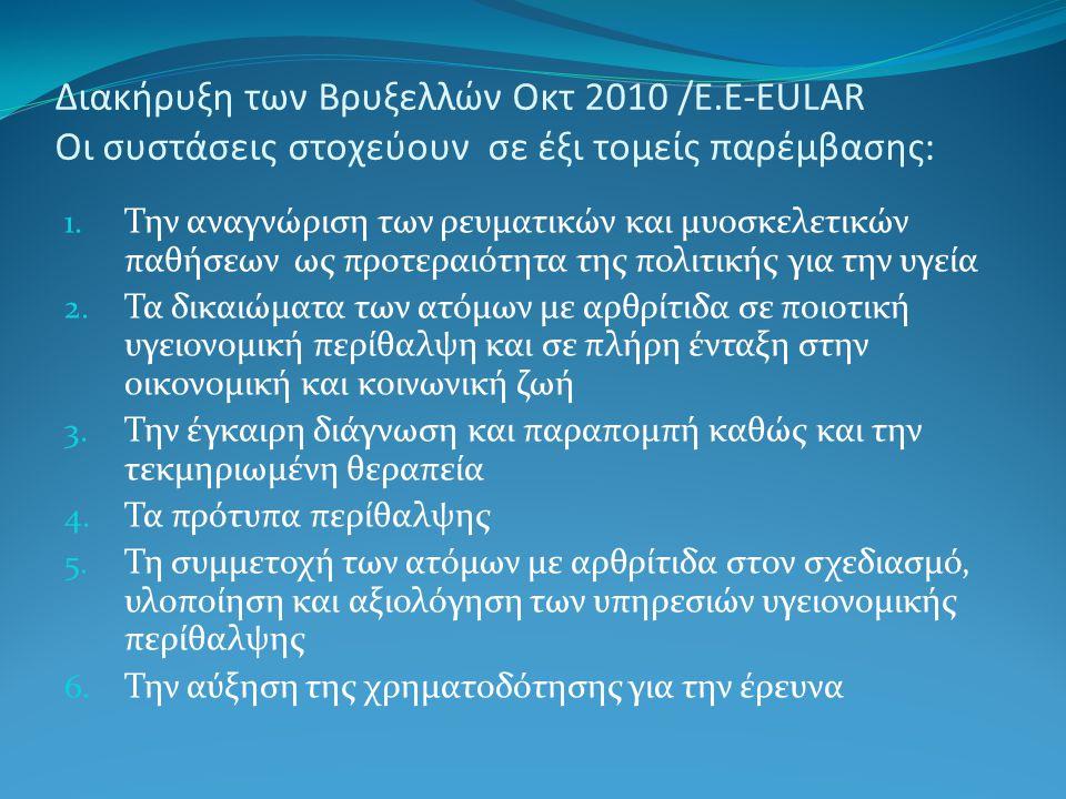 Διακήρυξη των Βρυξελλών Οκτ 2010 /E