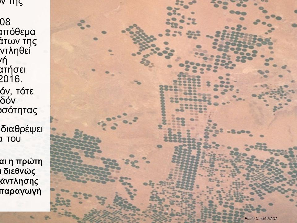 Ένα δραματικό παράδειγμα: η Σαουδική Αραβία