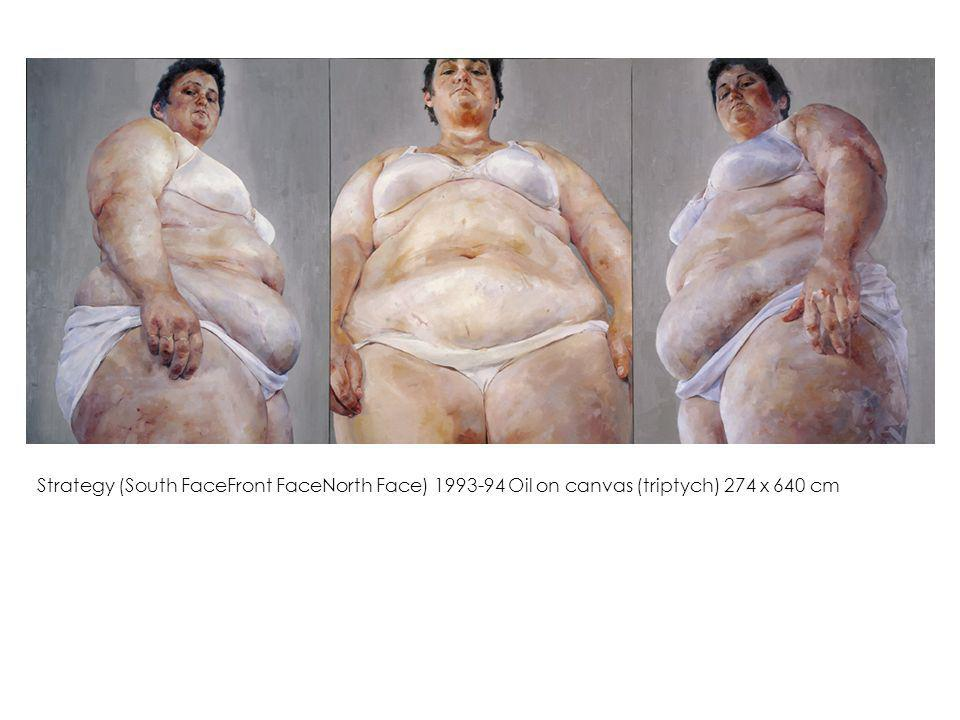 Strategy (South FaceFront FaceNorth Face) Oil on canvas (triptych) 274 x 640 cm