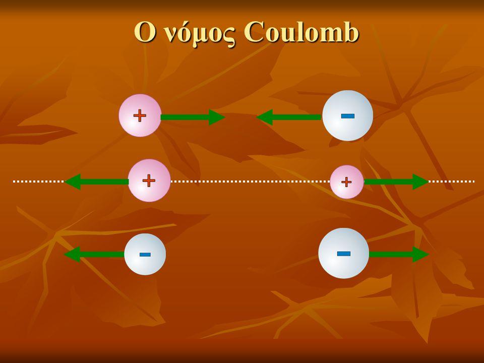 Ο νόμος Coulomb