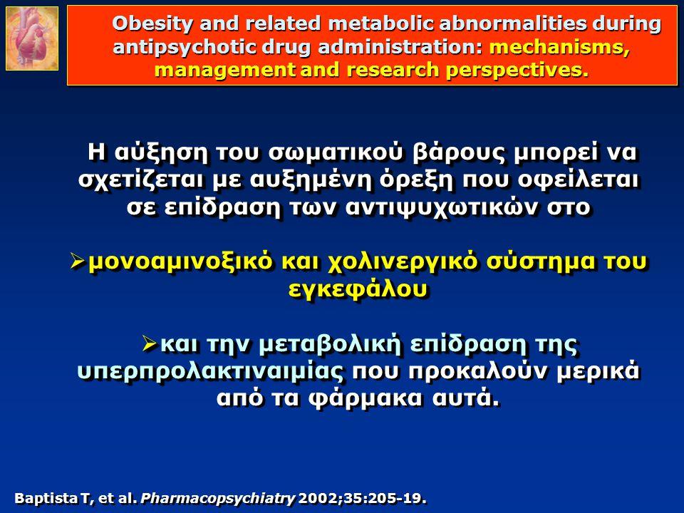 μονοαμινοξικό και χολινεργικό σύστημα του εγκεφάλου