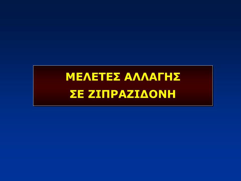 ΜΕΛΕΤΕΣ ΑΛΛΑΓΗΣ ΣΕ ΖΙΠΡΑΖΙΔΟΝΗ